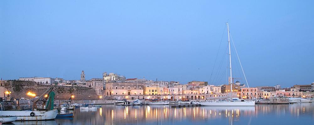 vista panoramica del porto